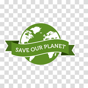 Save The Planet transparent background PNG cliparts free.