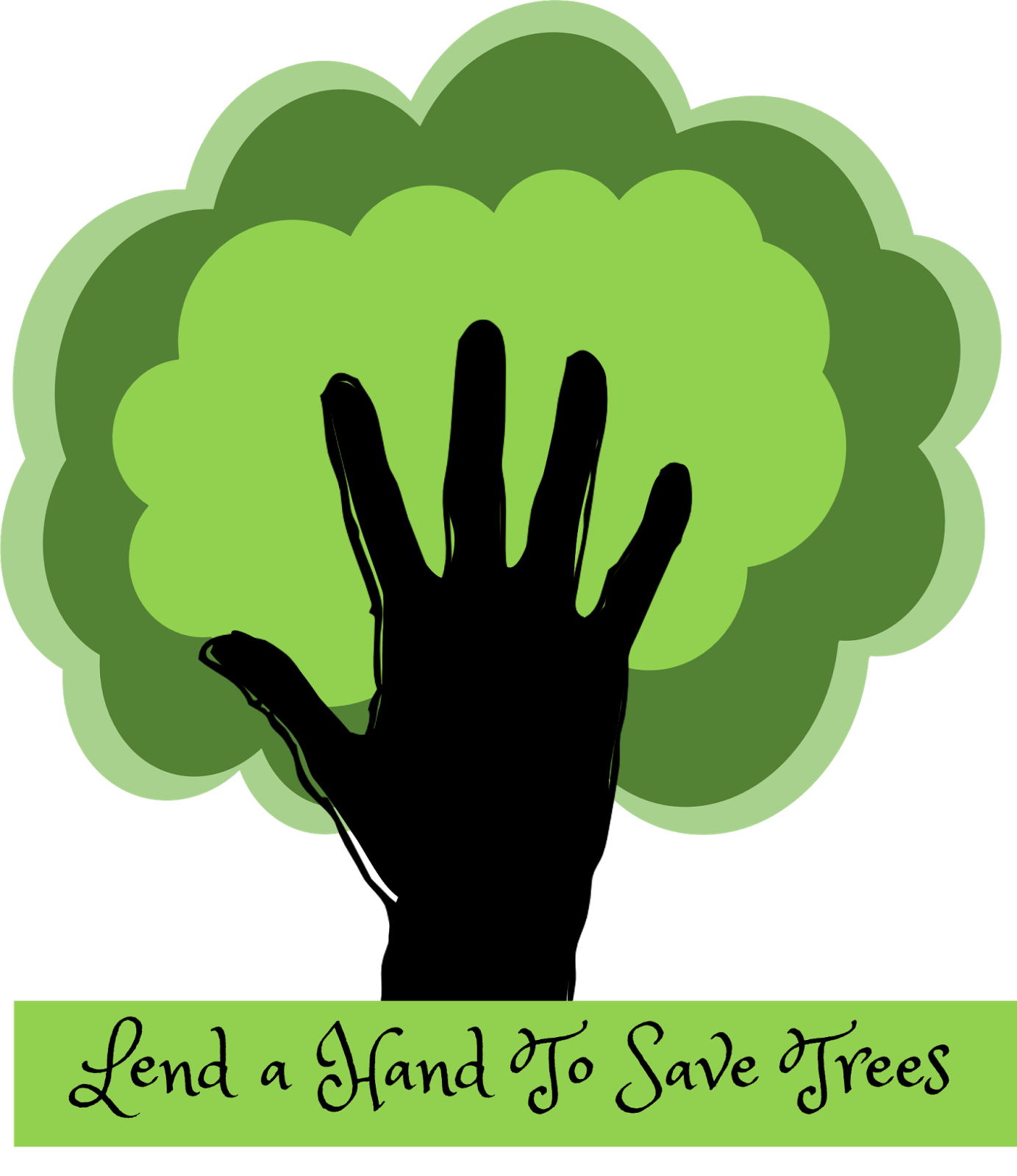 Save Trees Slogan Posters.