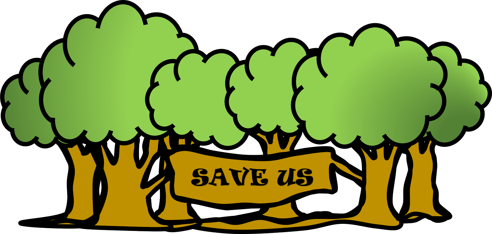 Save trees clipart 6 » Clipart Station.