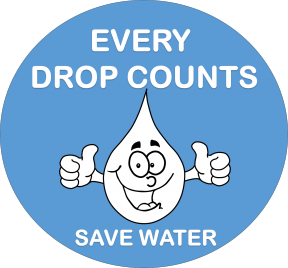 Save Water.