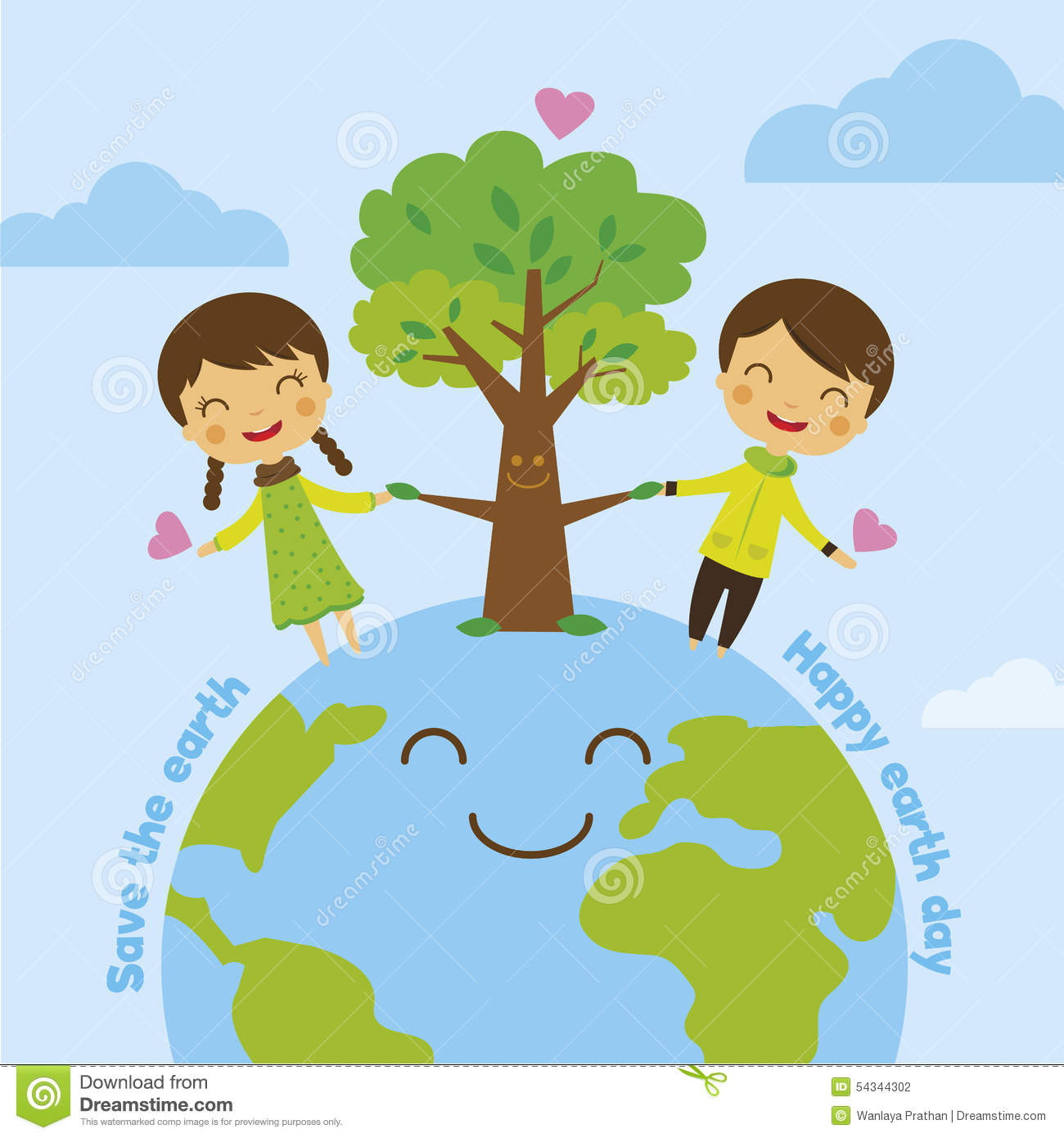 Save The Earth, Save World Stock Vector.