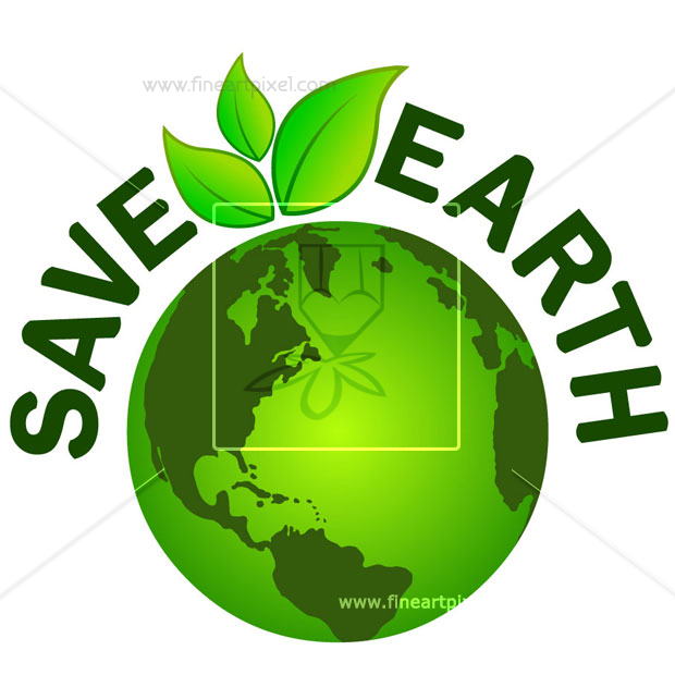Save Earth Clipart.