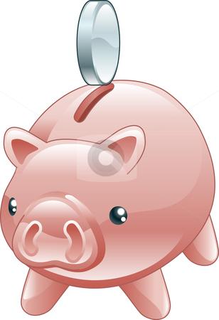 Savings account clipart.