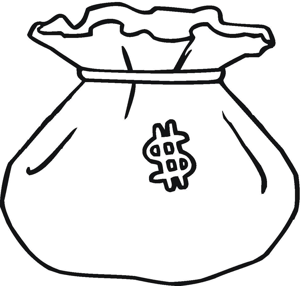 saving money clipart black and white