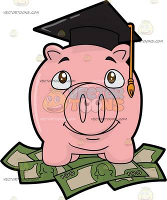 savings bank Cartoon Clipart.