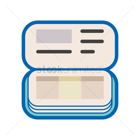 Free Savings Book Stock Vectors.