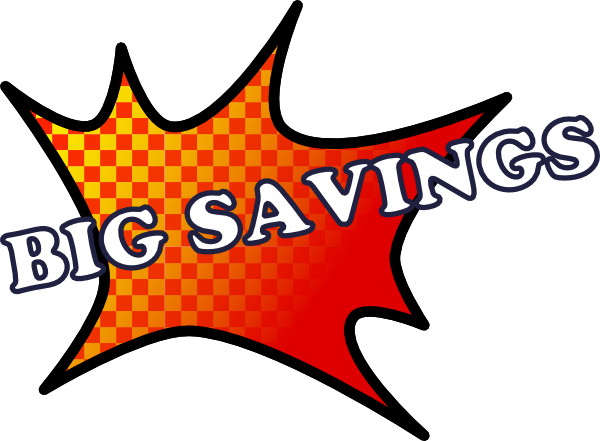 Big Savings clip art Free Vector / 4Vector.
