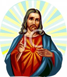 Free Clipart Image: The Lord and Savior Jesus Christ.
