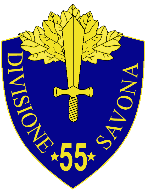 55th Infantry Division Savona.