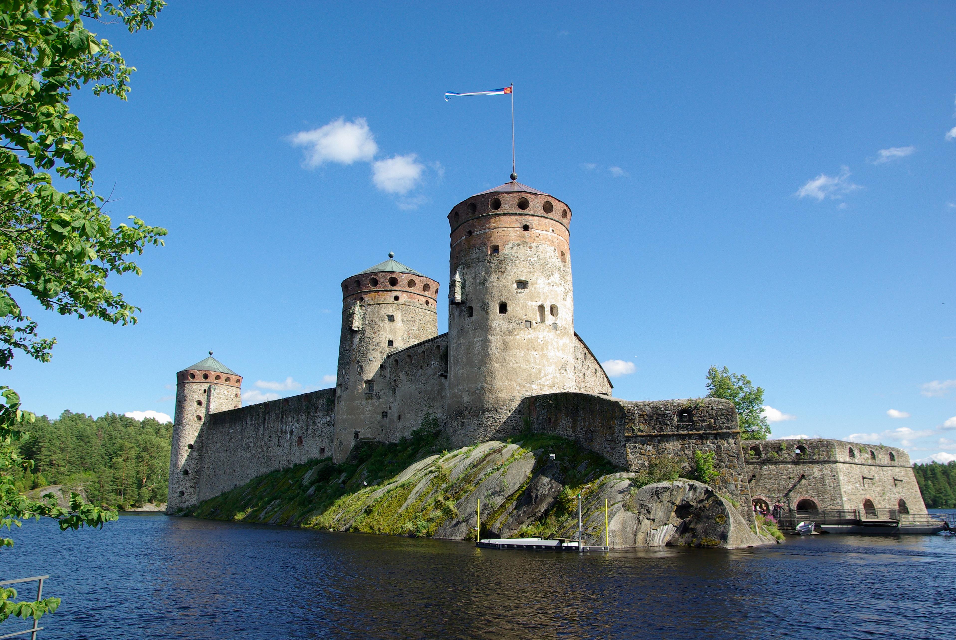 Fortress in Savonlinna, Finland.