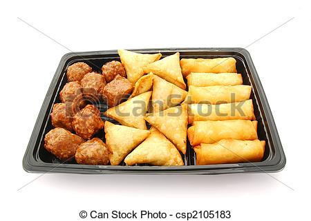 Savory snacks clipart.