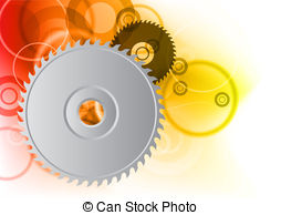 Saw toothed wheel Vector Clip Art EPS Images. 49 Saw toothed wheel.