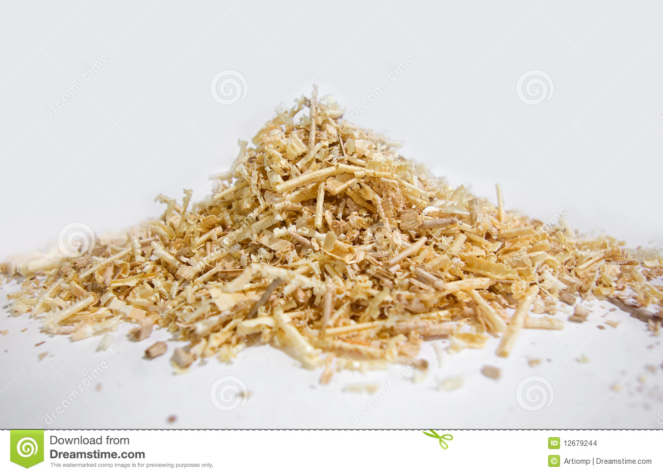 Sawdust Pile Stock Images.