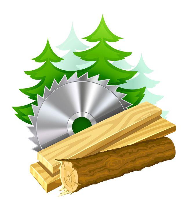 Sawmill Clipart.
