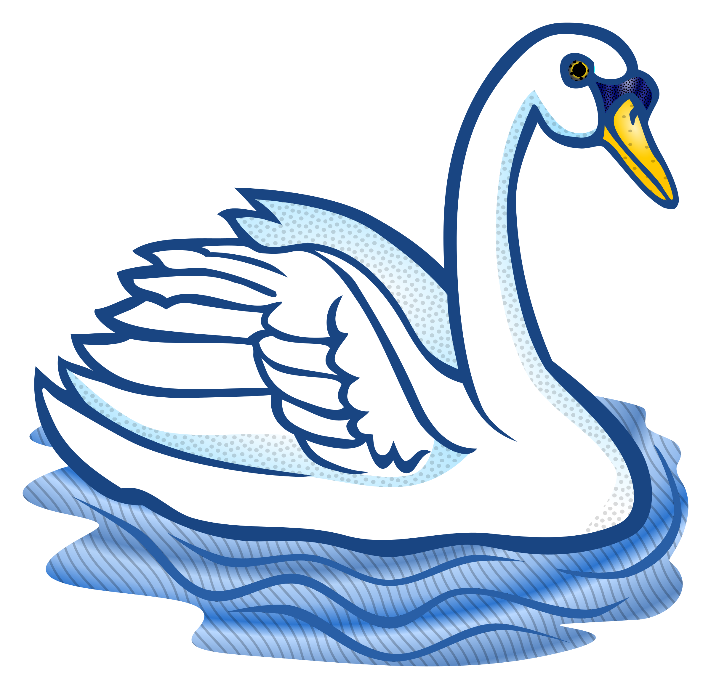 Swan clipart free.