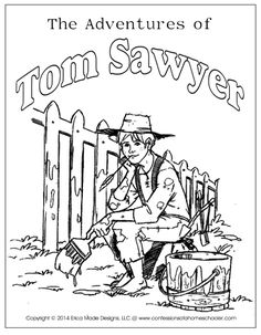 Tom Sawyer Clipart.