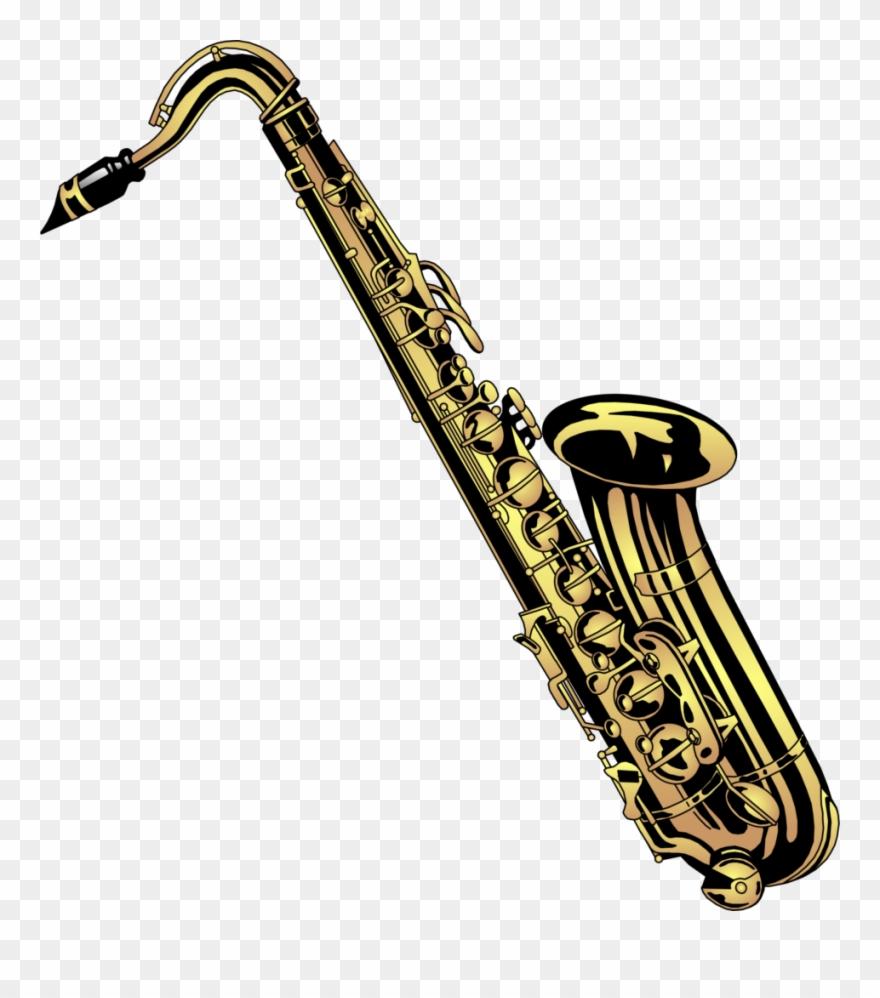Band Saxophone Clip Art.
