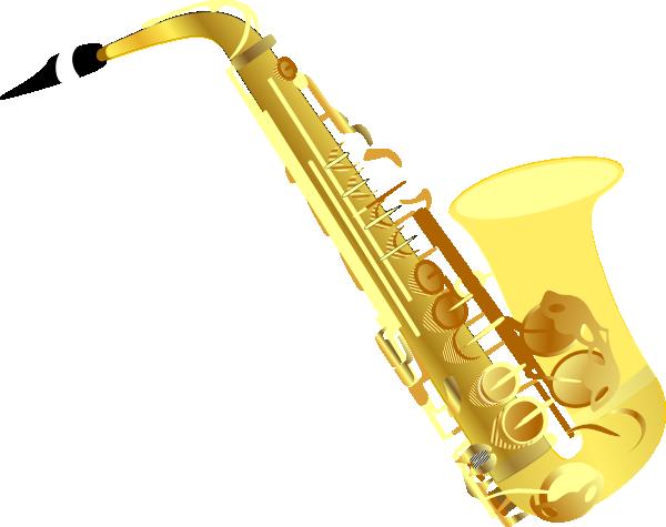 Saxophone Clip Art.