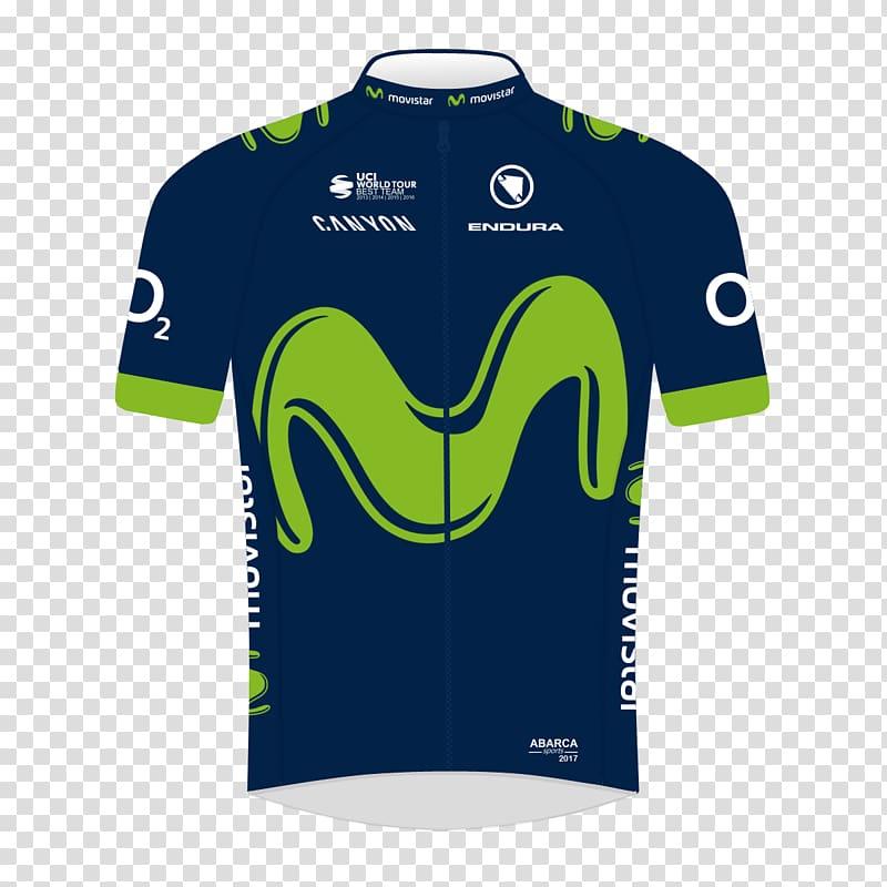 Sports Fan Jersey Movistar Classic cycle races Team Saxo.