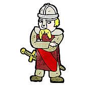 Saxon Clip Art.