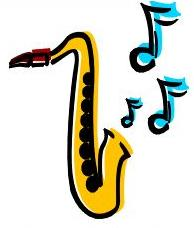 Free Saxophone Clipart.