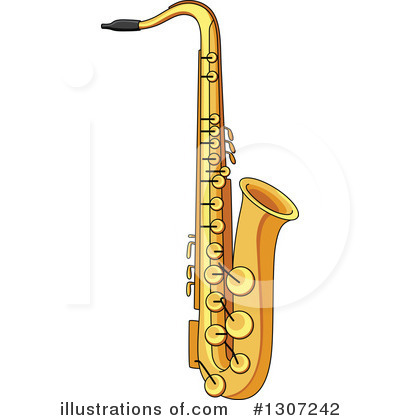 Saxophone Clipart #1307242.