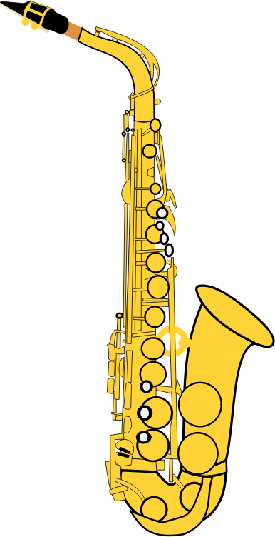 Free to Use & Public Domain Saxophone Clip Art.
