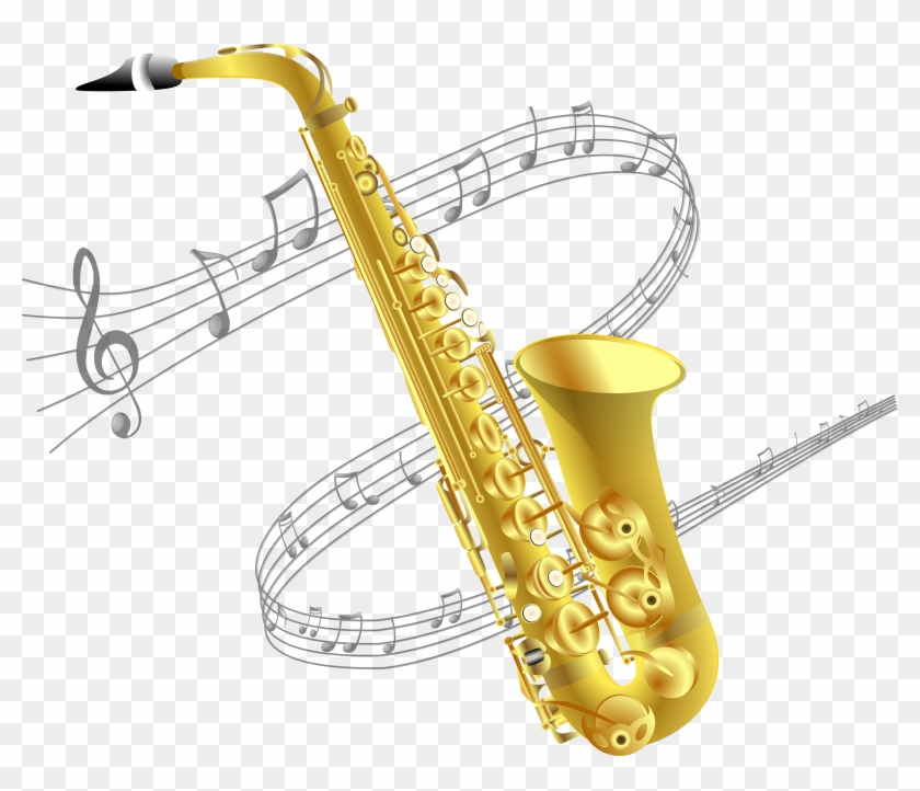 Saxophone Clipart Small.