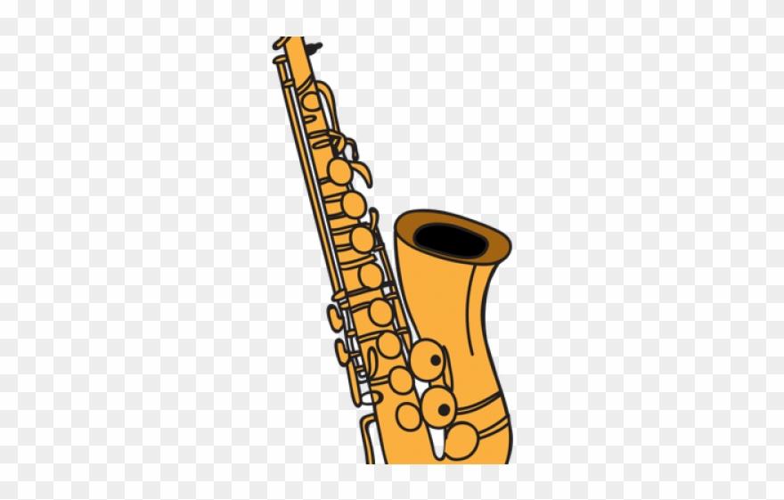 Saxophone Clipart Transparent Background.