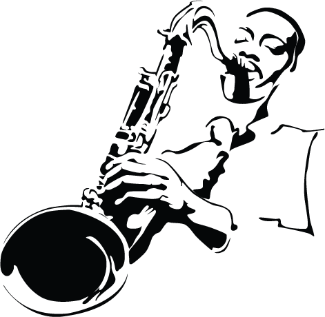 Free Jazz Saxophone Cliparts, Download Free Clip Art, Free.