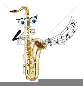 Clipart Saxophone Player.