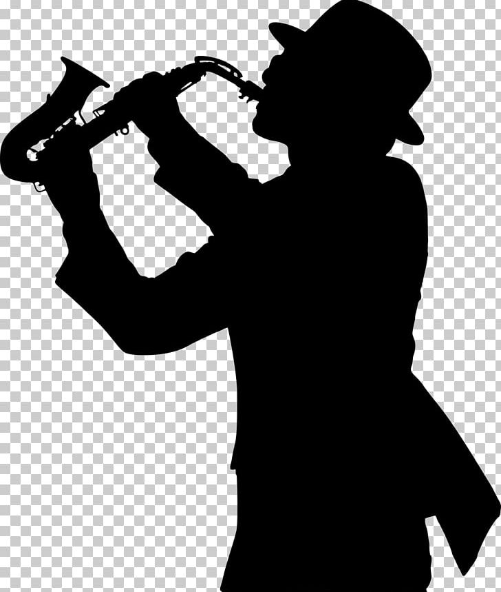 Alto Saxophone Silhouette Jazz Trumpeter PNG, Clipart, Alto.