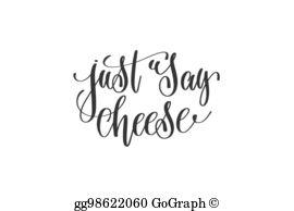 Say Cheese Clip Art.