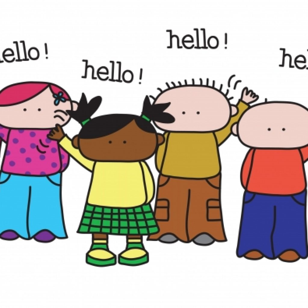 Hello clipart say hello, Hello say hello Transparent FREE.