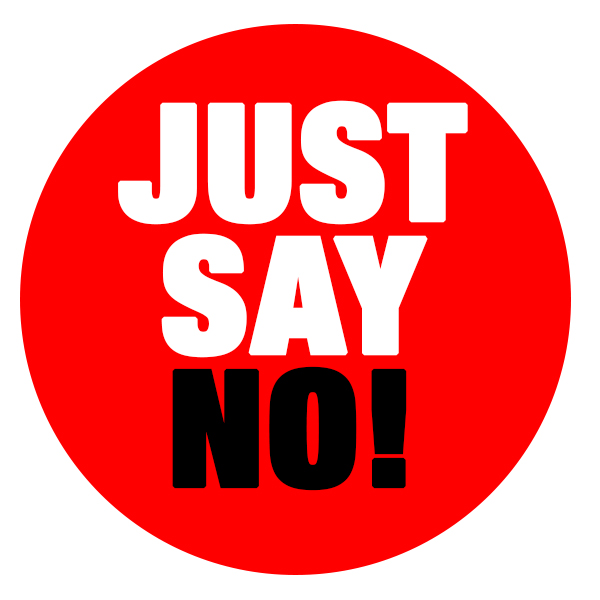 Free JUST SAY NO, Download Free Clip Art, Free Clip Art on.