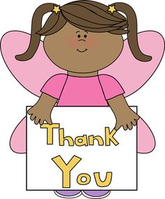 Saying thank you clipart 4 » Clipart Station.