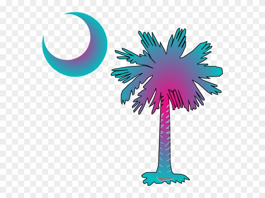 Sc Palmetto Tree Clip Art.