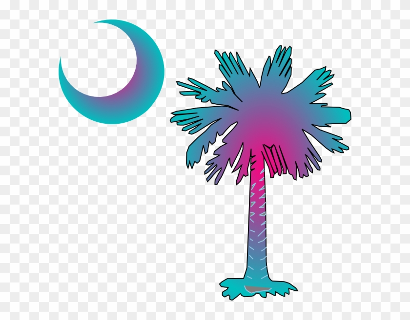Sc Palmetto Tree Clip Art At Clkercom Vector.