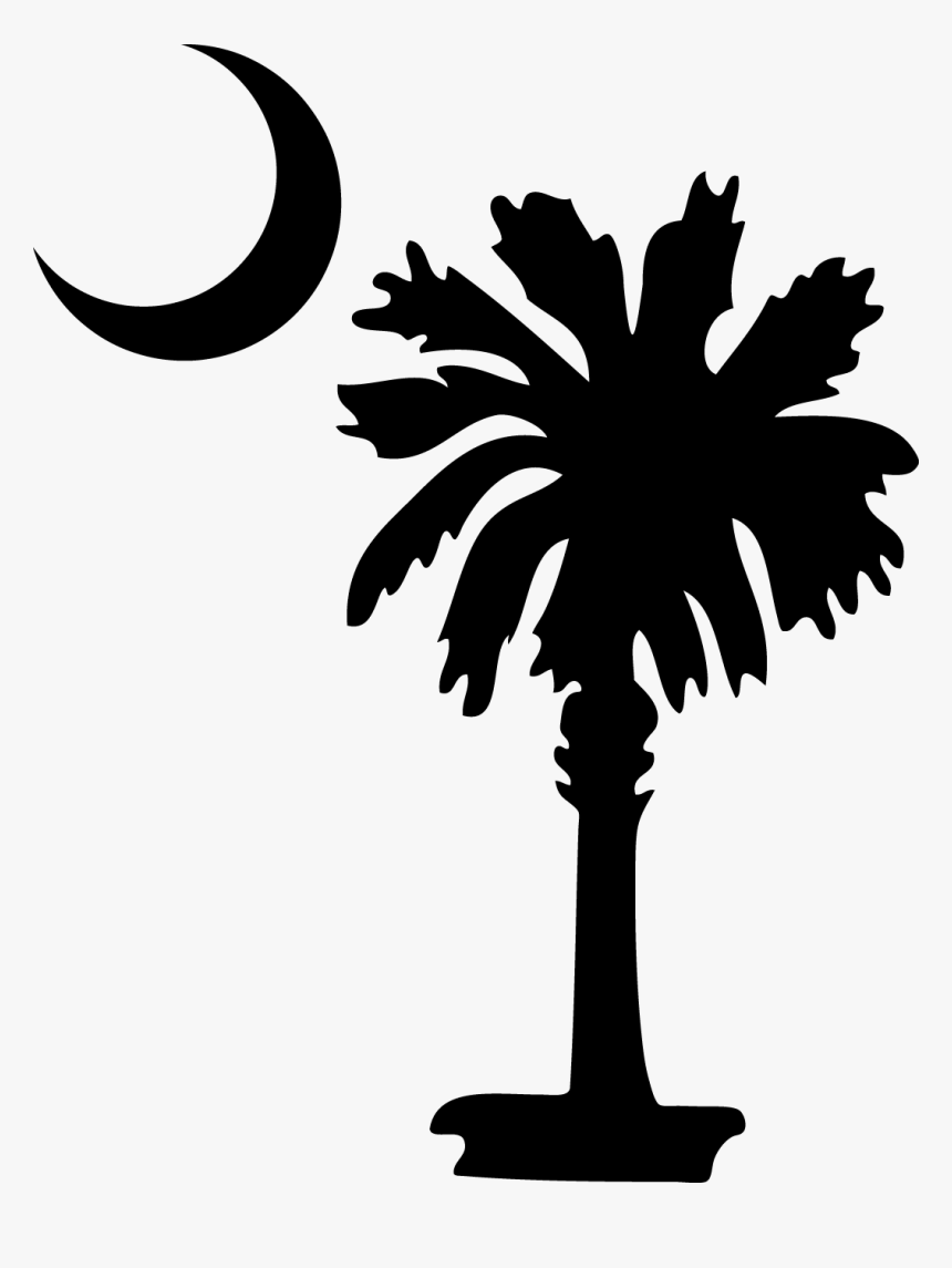 Clip Art South Carolina Palm Tree, HD Png Download.