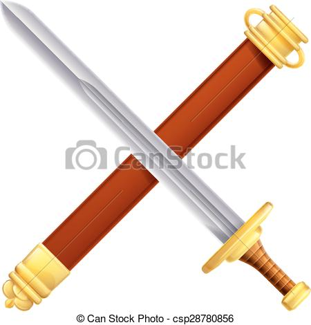 Scabbard Stock Illustrations. 154 Scabbard clip art images and.