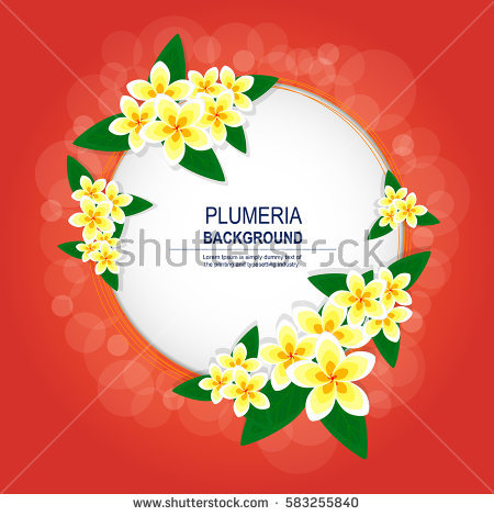 Abstract Tropical Background Stock Vector 76878505.