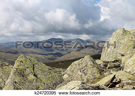 Stock Image of Scafell Pike k24720395.