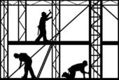 Scaffolding Illustrations and Clipart. 693 scaffolding royalty.