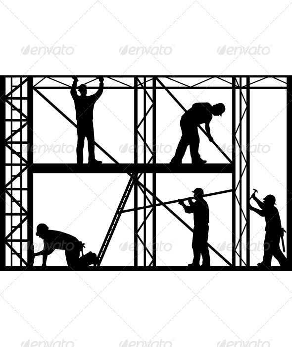 Scaffolding clipart png.