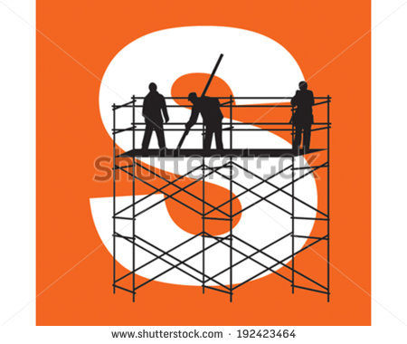 Scaffolding Stock Images, Royalty.