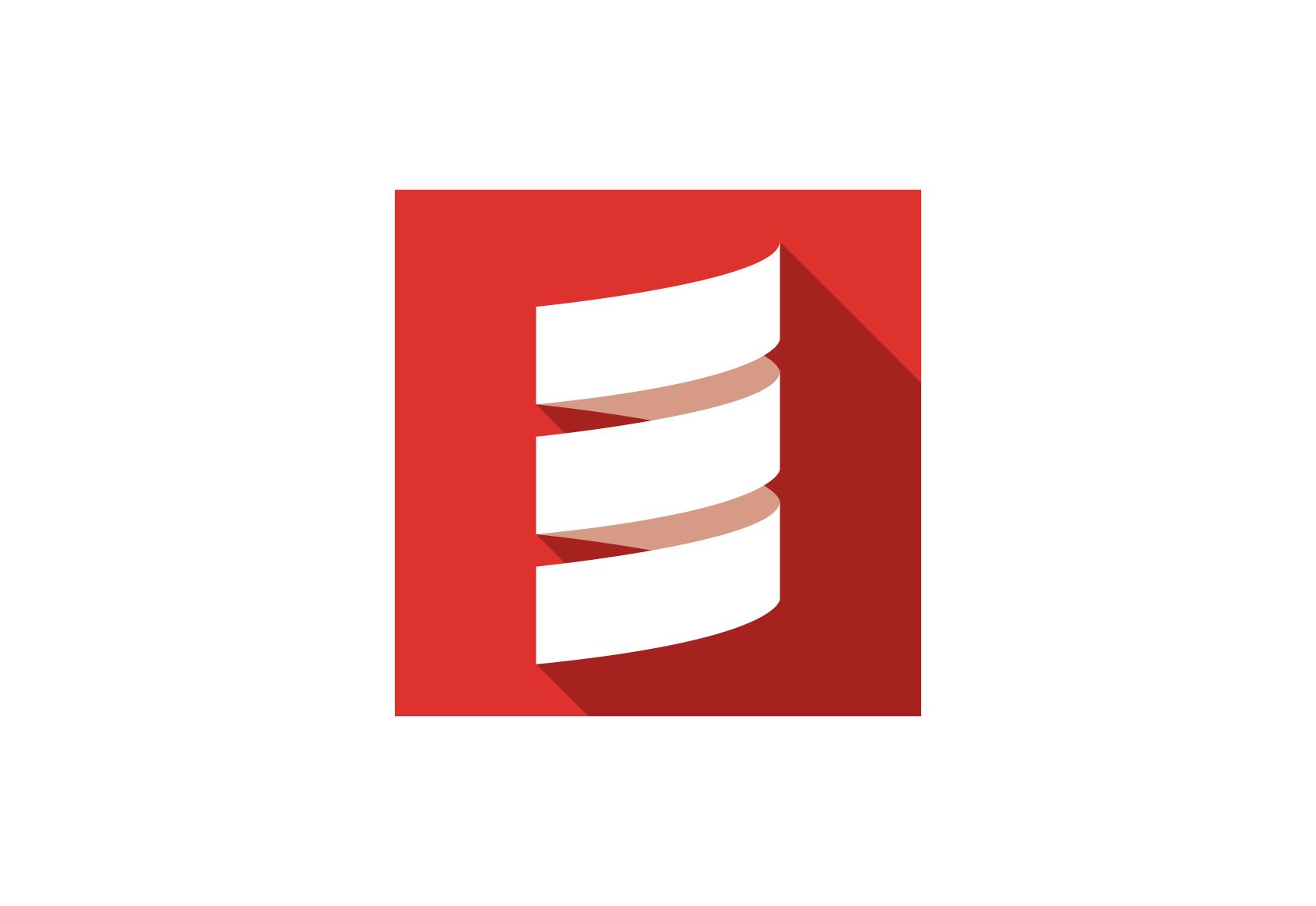 Scala logo.