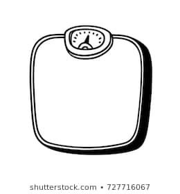 Weight scale clipart black and white 6 » Clipart Portal.