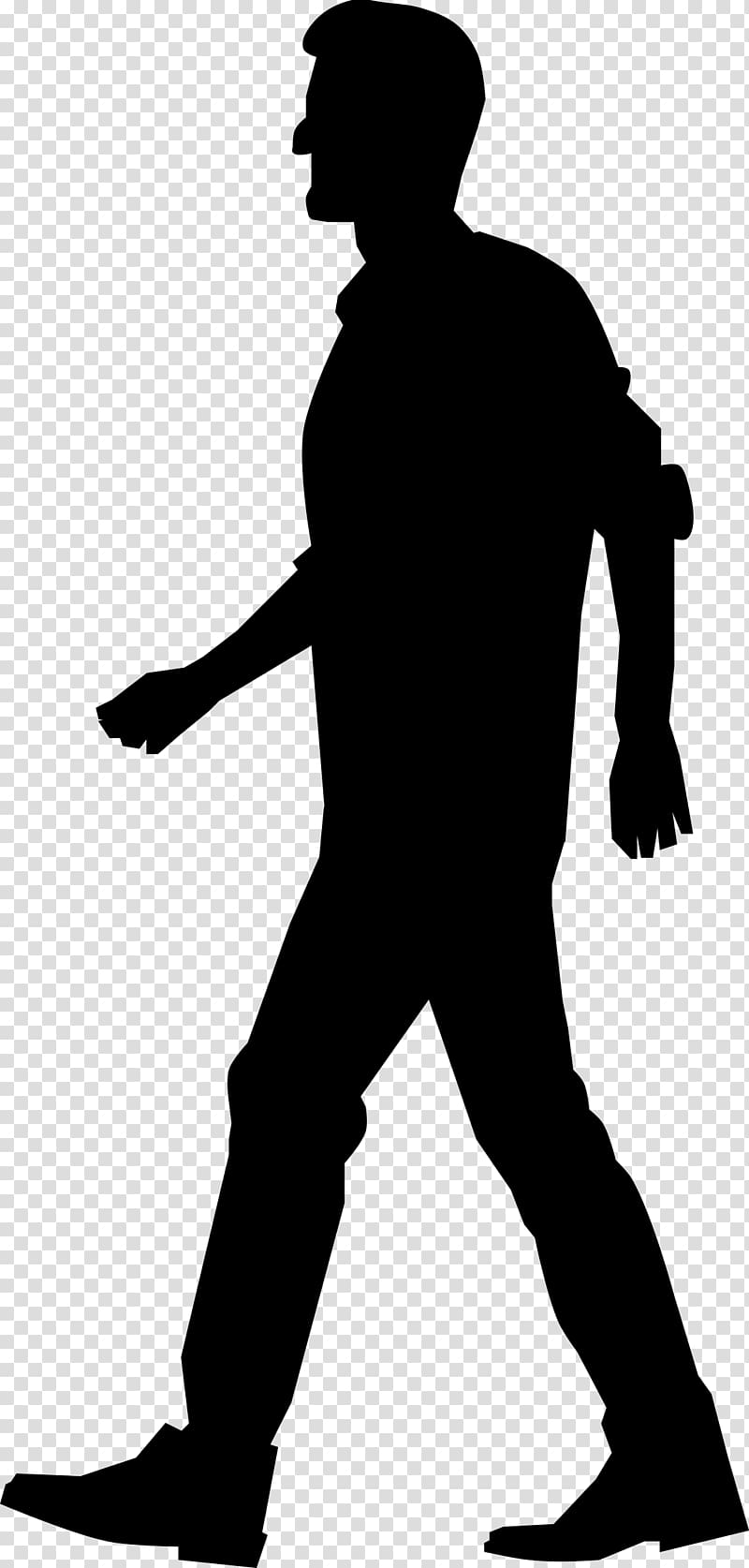 Walking Computer Icons , silhouette transparent background.