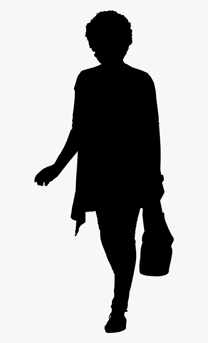 Body Standing Silhouette Clipart , Png Download.