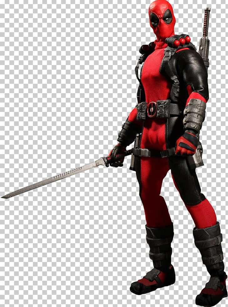 Deadpool Action & Toy Figures Mezco Toyz 1:12 Scale PNG.